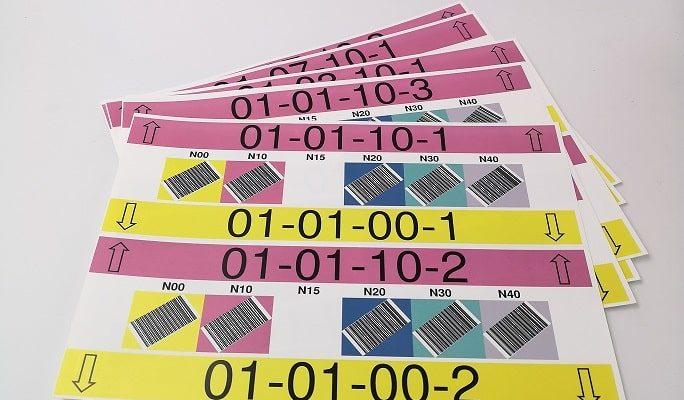 Etude de cas client – Fabrication de nouvelles étiquettes spéciales de rack