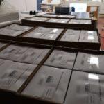 Des planches d'étiquettes pour les tests PCR - Image en avant