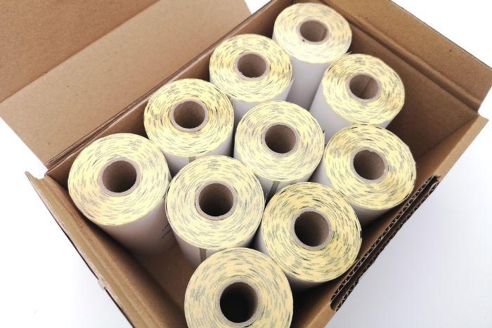 Les étiquettes en mini-bobines