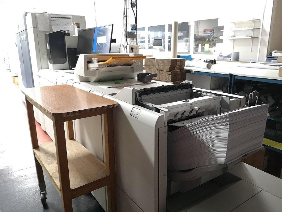 Des planches d'étiquettes pour les tests PCR